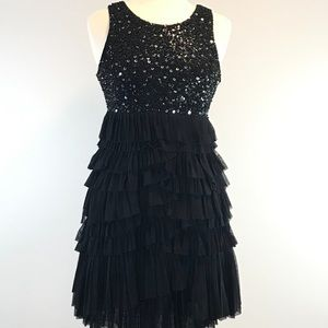 MM Couture by Miss Me Little Black Dress L #0320